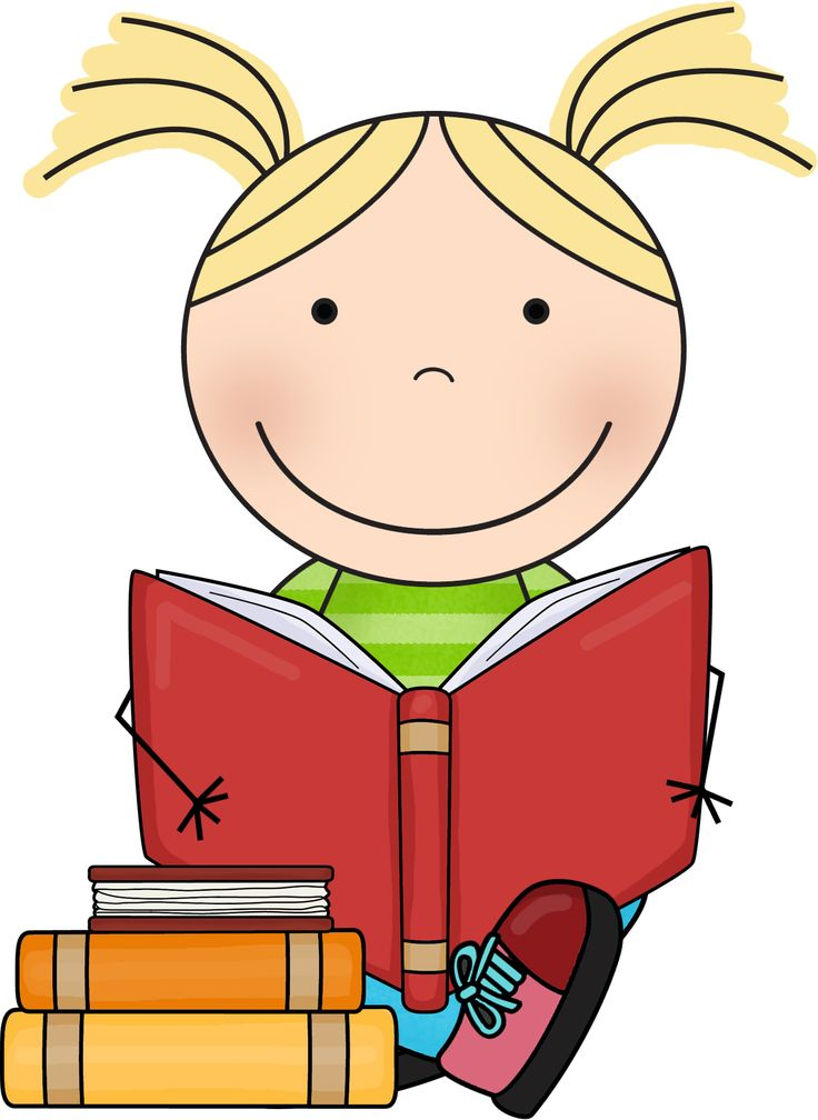 Kids Reading Clipart at GetDrawings | Free download