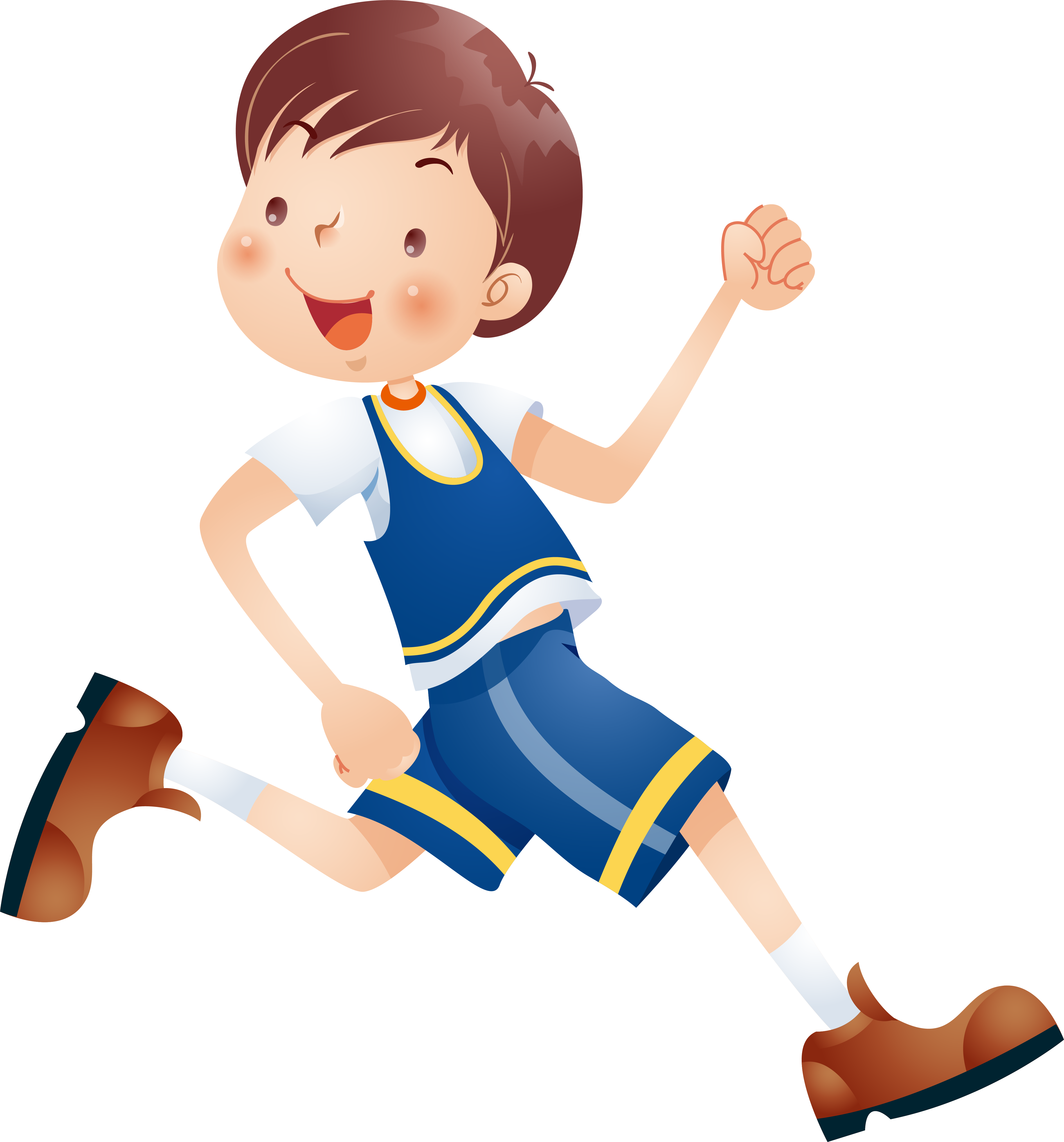 Kids Running Clipart at GetDrawings | Free download