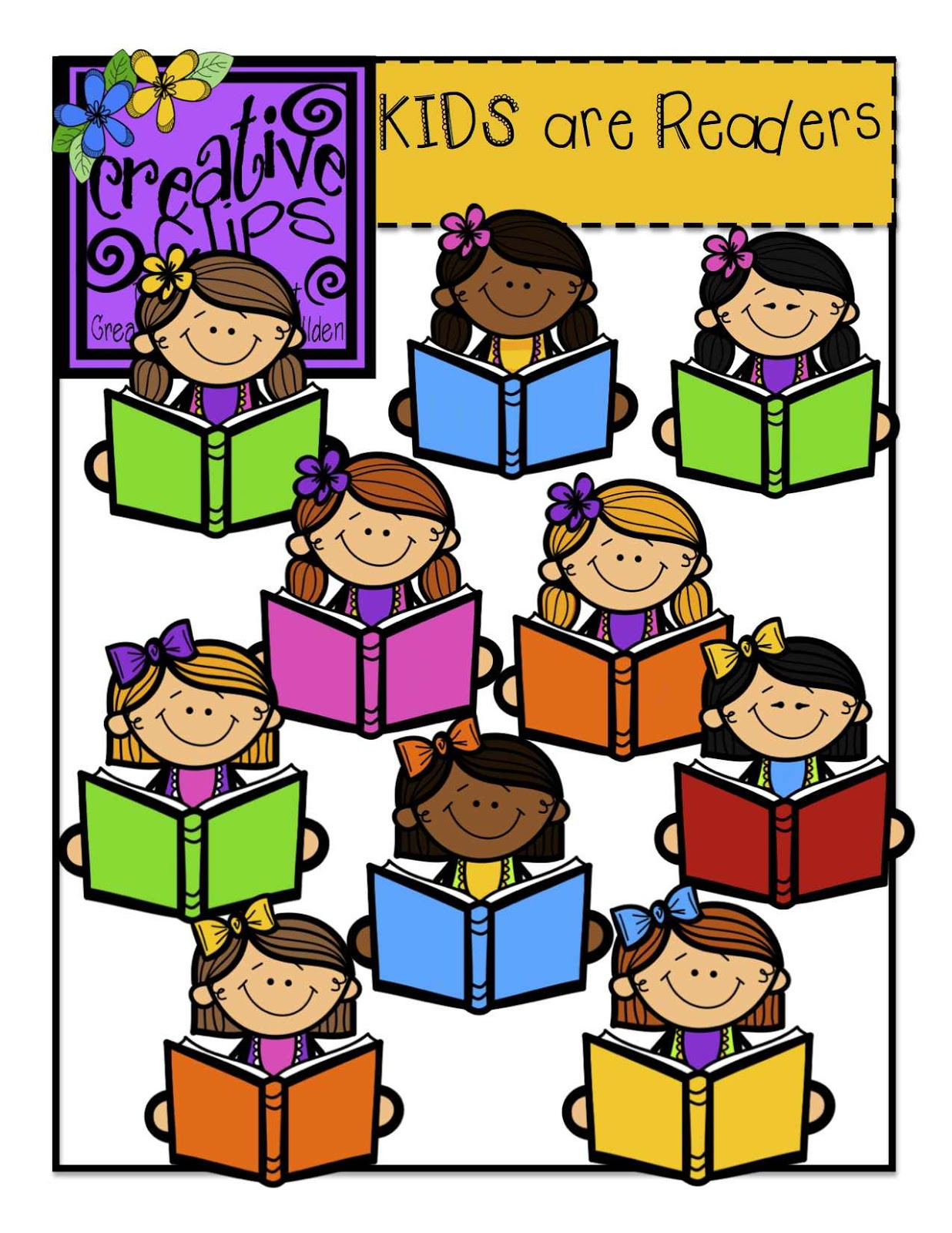 1236x1600 Kids Reading Clipart Clip Art Children School Magnificent