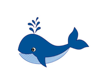340x270 Clipart Of A Whale