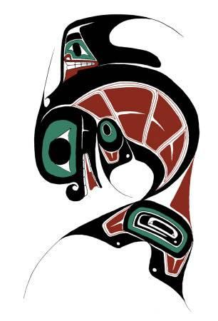 306x450 Killer Whale Giclee Print By Danny Dennis