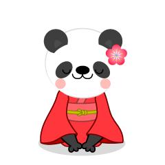 240x240 Free Kimono Panda Clip Art Cartoon Amp Clipart