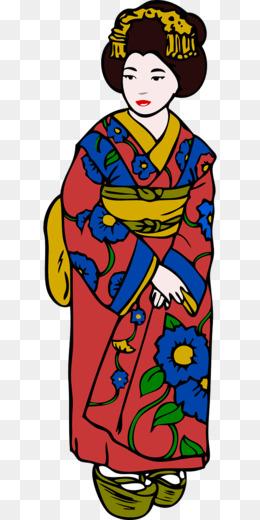 260x520 Kimono Clip Art