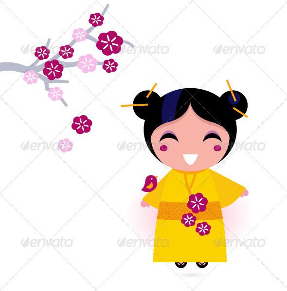 590x597 Kimono Clipart Kartun