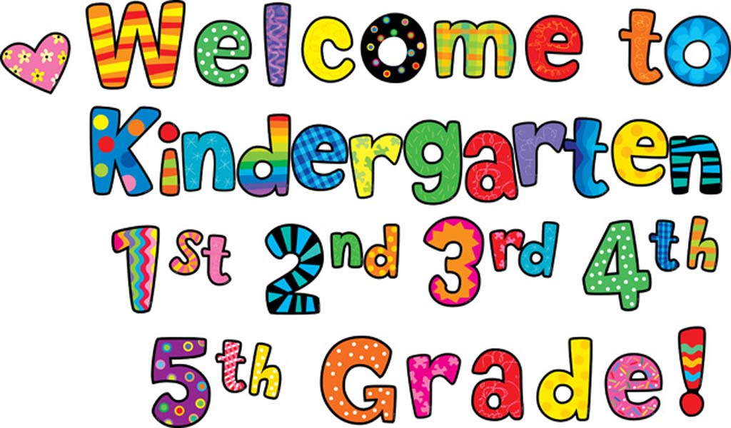 1024x600 Collection Of Welcome To Kindergarten Clipart High Quality