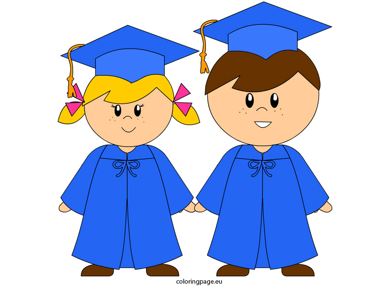 graphic relating to Graduation Clip Art Free Printable identified as Kindergarten Clipart No cost at  No cost for