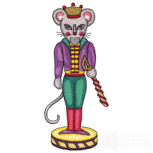 500x500 Mouse King Clip Art