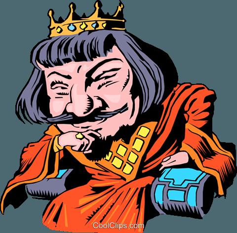 480x472 Cartoon King Arthur Royalty Free Vector Clip Art Illustration