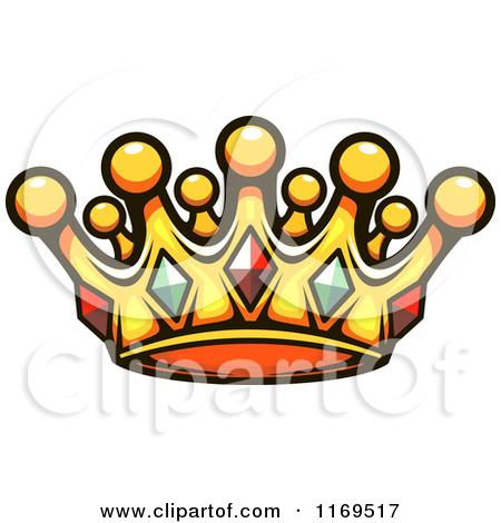 450x470 Gold Glitter Crown Clipart