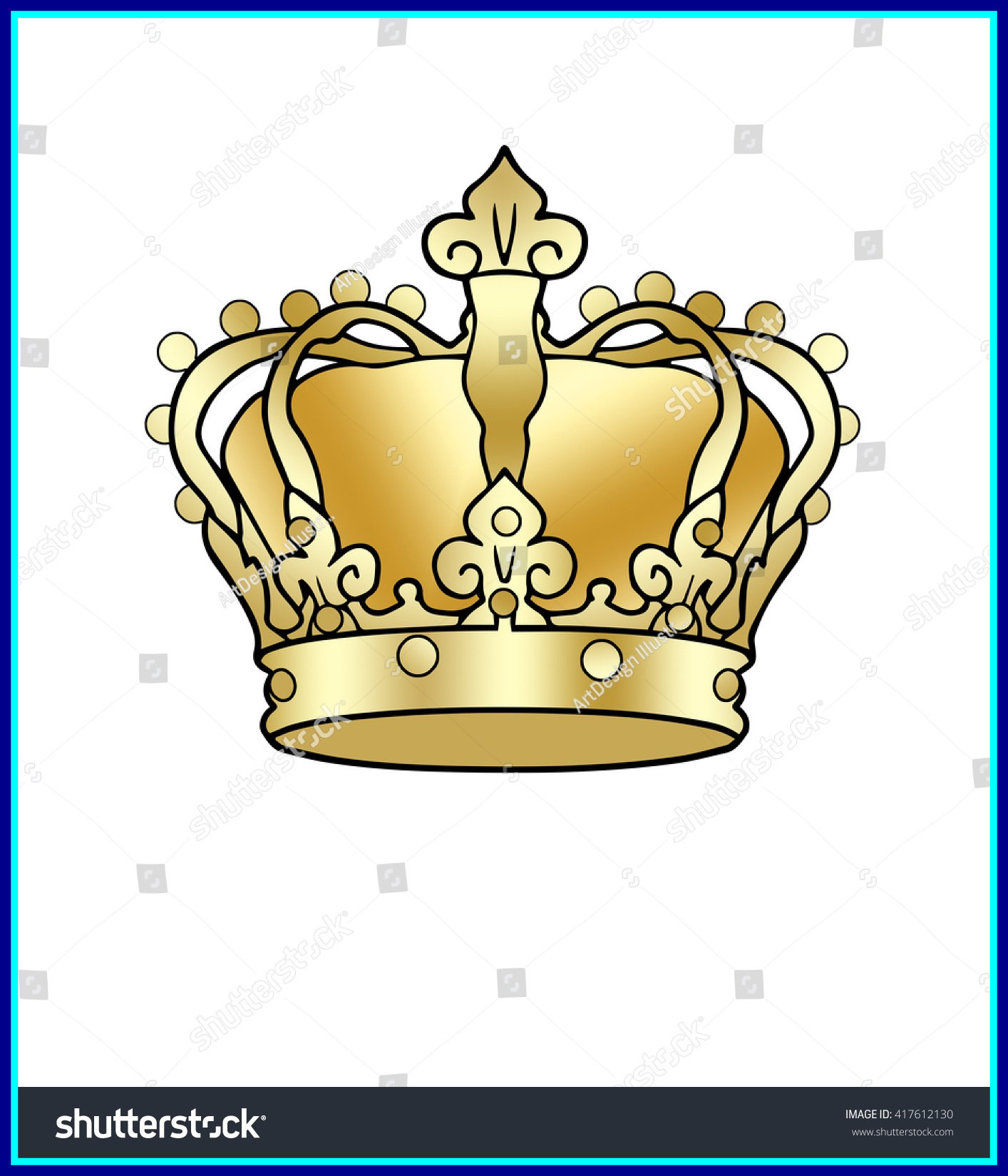 1414x1650 Incredible Crowns Clipart King Clip Art Vintage Golden Graphics