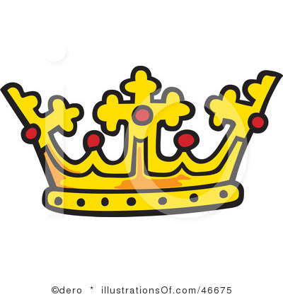 400x420 King Crown Clipart