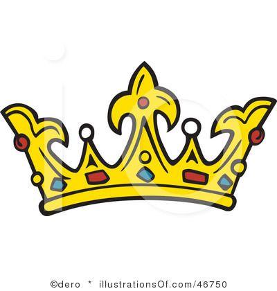 400x420 Elegant King Crown Clip Art