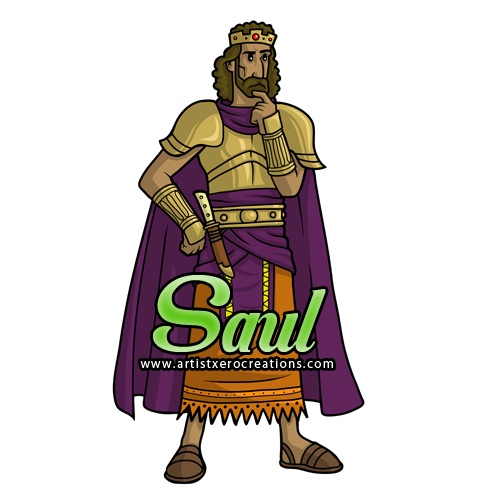 King Saul Clipart
