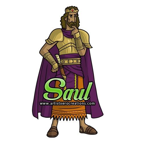 King Saul Clipart