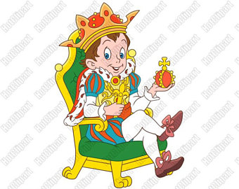 340x270 King Crown Clip Art Etsy