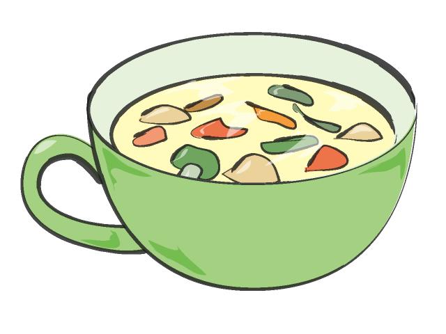 640x480 Green Soup Clipart
