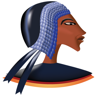 453x402 Ancient Egyptian Clip Art