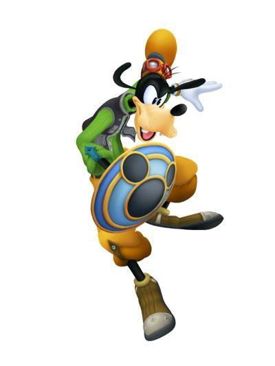 400x533 Goofy .kingdom Hearts Sora Donald And Goofy