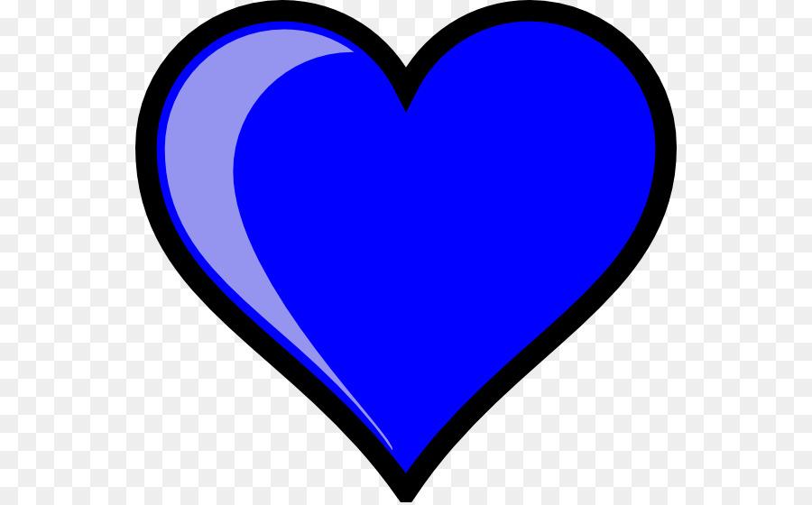 900x560 Heart Light Blue Sky Blue Clip Art