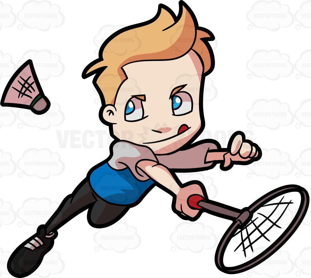 1024x914 A Preadolescent Boy Playing Badminton Boys Playing And Badminton