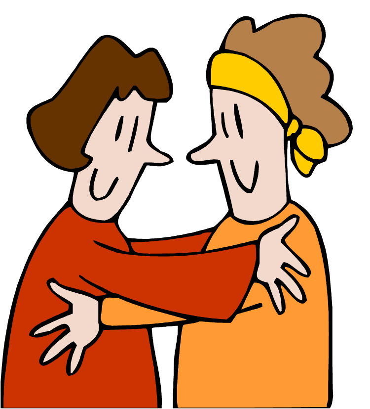 750x827 Kissing Clipart Family Hug 3650027