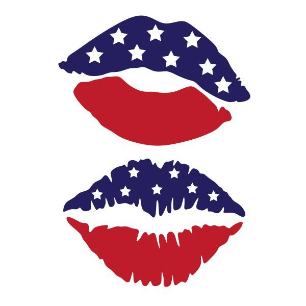 600x600 Breathtaking Lip Clipart Usa Kiss Lips Cuttable Design Cut File