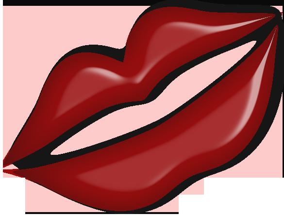 585x443 Image Of Kissy Lips Clip Art
