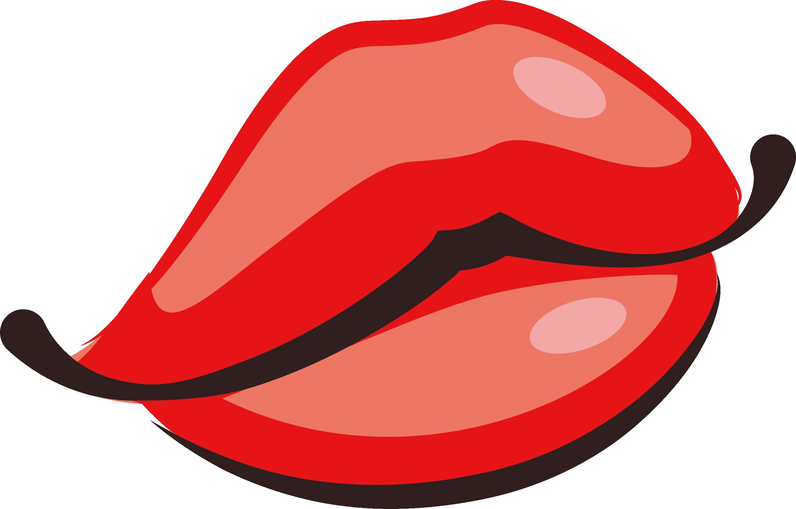 2549x1632 Kiss Cartoon Lip Clip Art