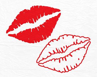 340x270 Kiss Silhouette Etsy