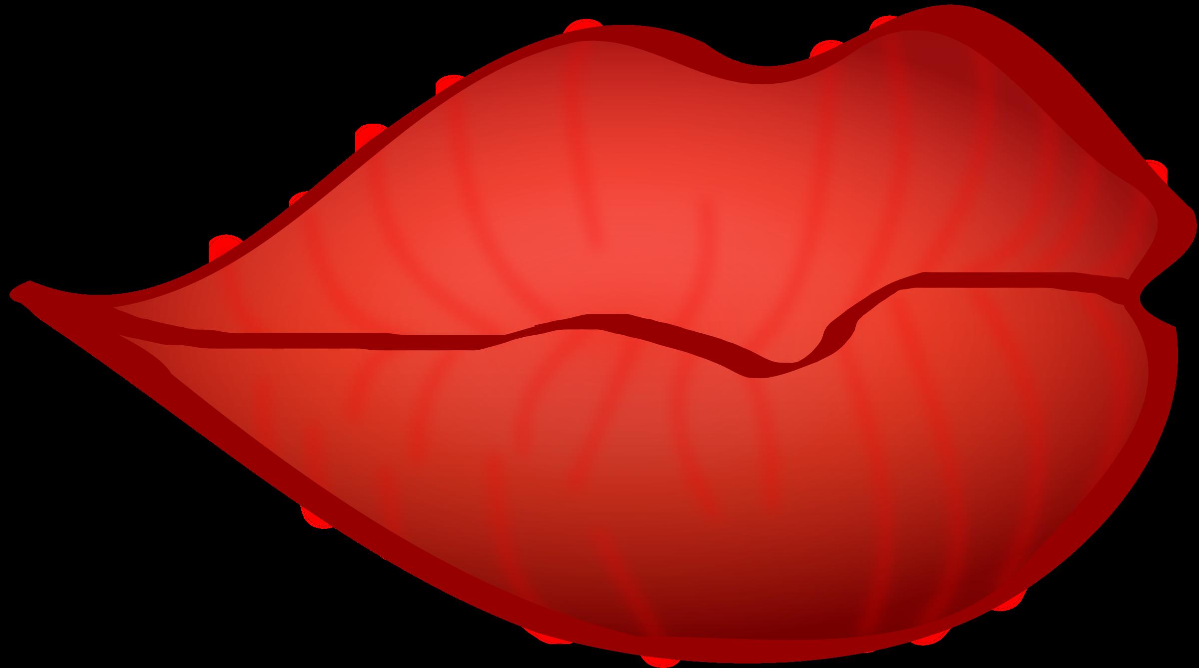 2400x1339 Clip Art Red Lips Clip Art