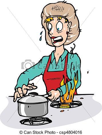 357x470 Kitchen Safety Clipart 101 Clip Art