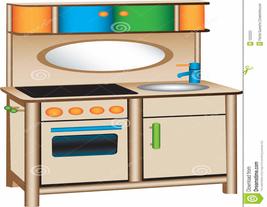 267x207 Play Kitchen Clip Art
