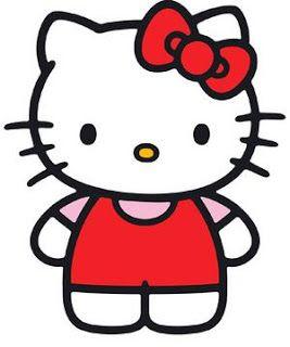 267x320 Cartoon Clipart Hello Kitty Cartoon Clip Art Kid's Birthday