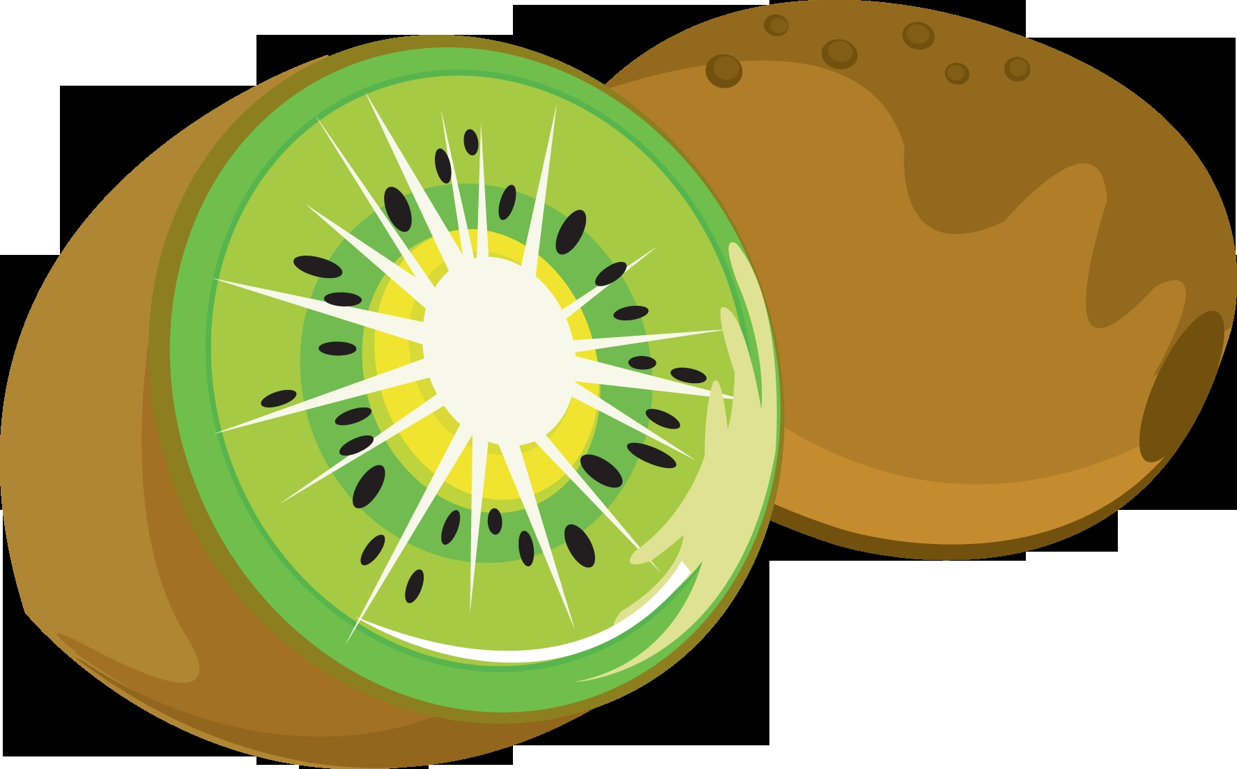 1775x1104 Awesome Kiwi Clipart Design