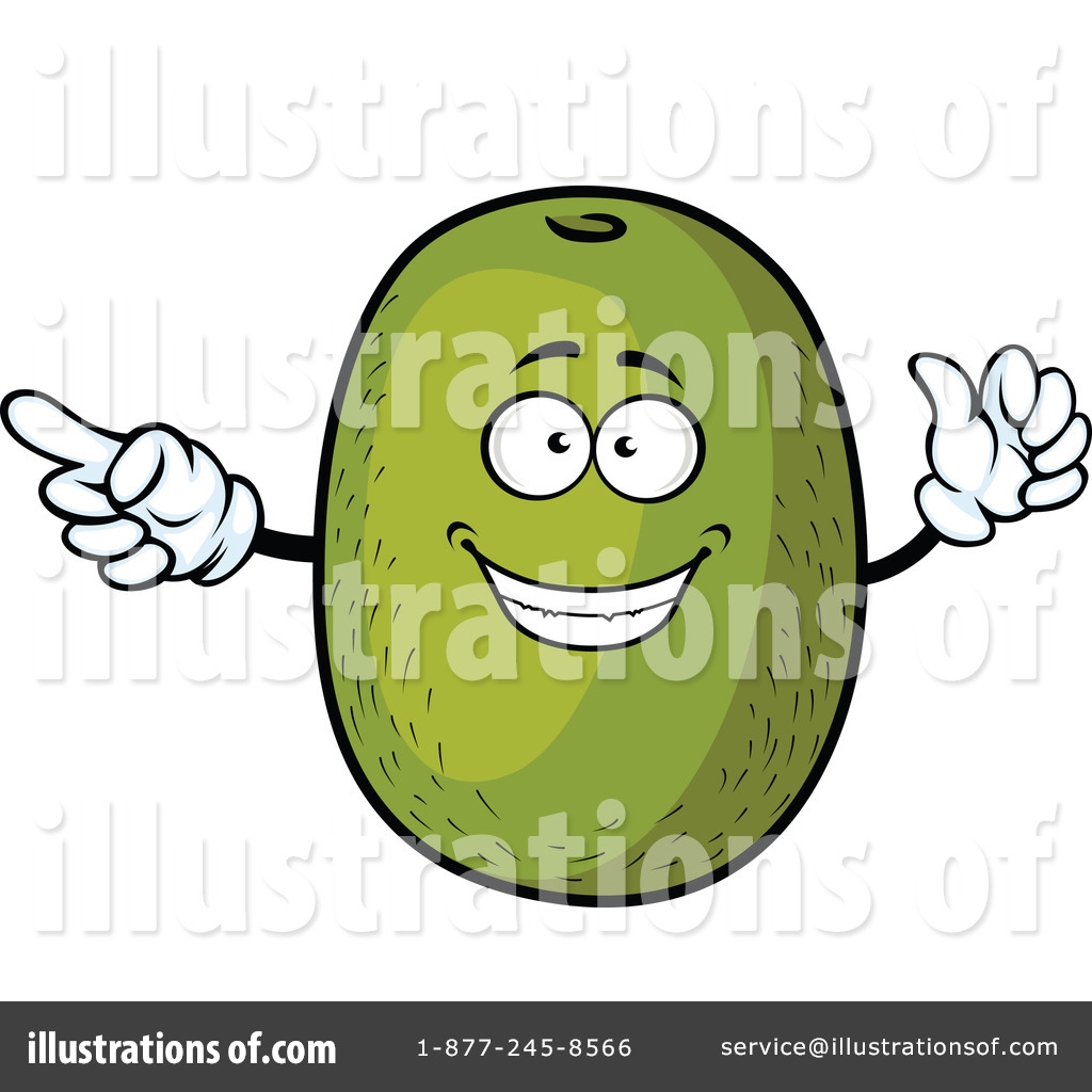 1024x1024 Kiwi Fruit Clipart