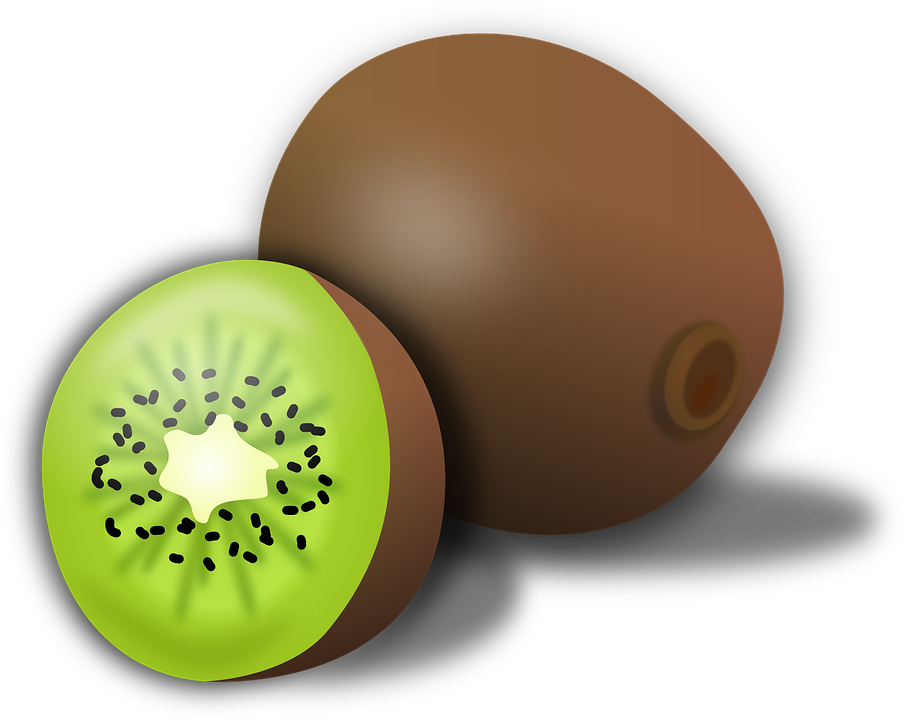 907x720 Kiwi Clipart Brown Fruit
