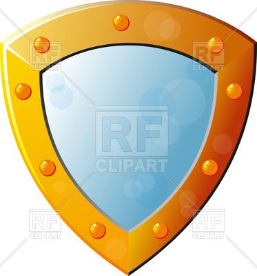 373x400 Beautiful Knight Shield Royalty Free Vector Clip Art Image