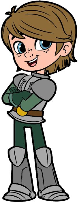 274x701 Nella The Princess Knight Clip Art Cartoon Clip Art