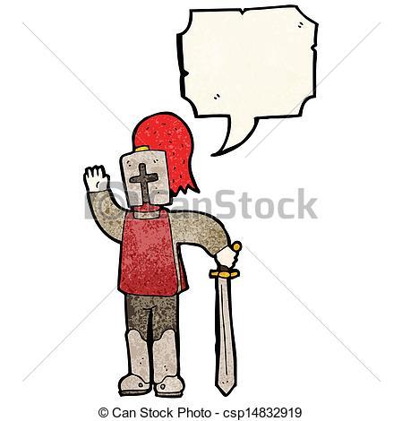 449x470 Cartoon Medieval Knight Vector Clip Art