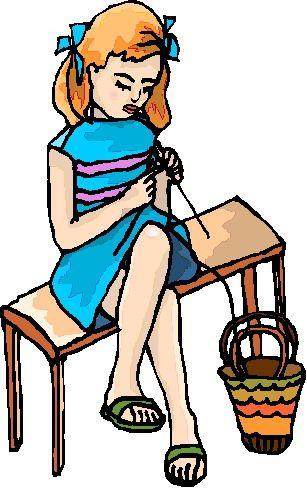 307x488 Free Clip Art Knitting 50 547 Knit Stock Vector Illustration