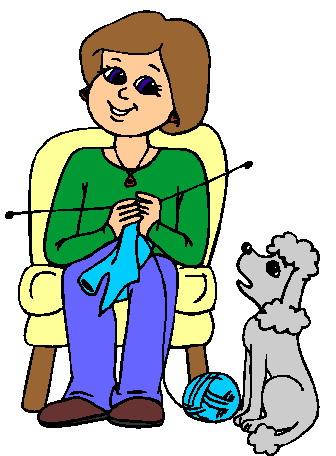 336x456 Knitting Clip Art 13 Image