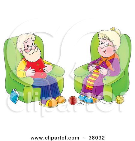 450x470 Royalty Free (Rf) Clip Art Illustration Of A Cartoon Granny