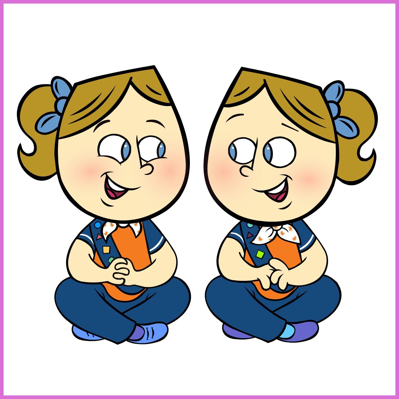 1696x1696 Unbelievable Brownie Cliprt Girl Guide Ideasnd Pic Of Tie