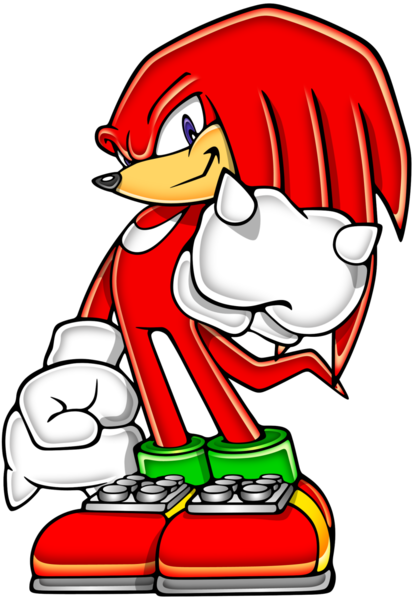 414x600 Advance Knuckles Free Images