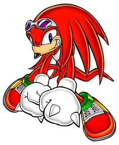 236x288 My Favorite Video Game Character. Knuckles The Echidna (Sonic