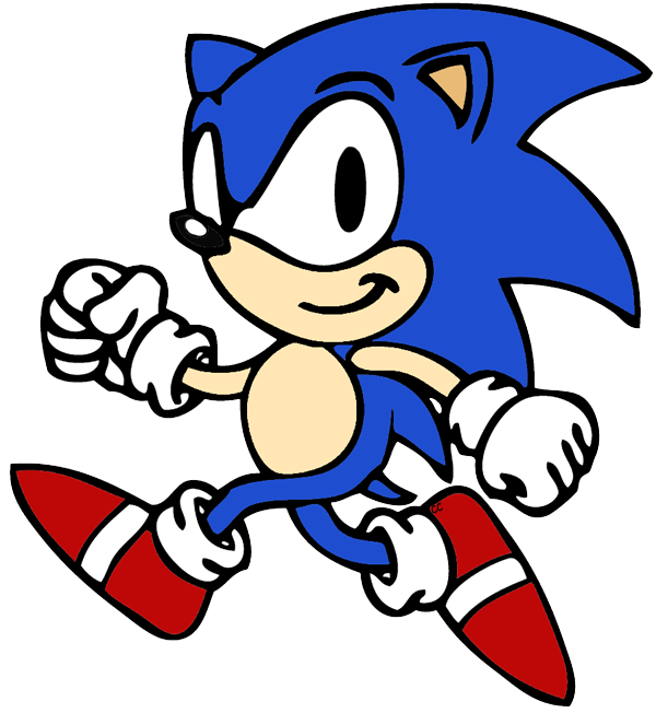 600x652 Sonic The Hedgehog Clip Art Cartoon Clip Art