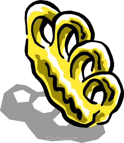 416x480 Brass Knuckles Royalty Free Vector Clip Art Illustration Hous0945
