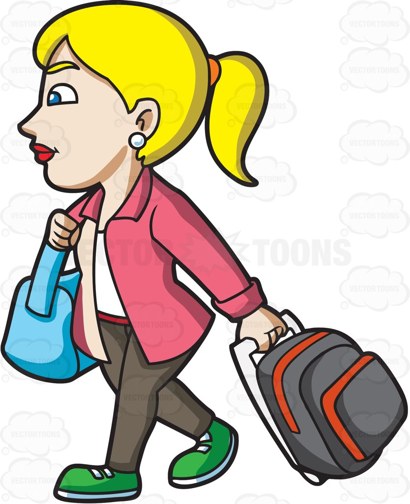 834x1024 Clipart Woman In Airport Saying Bye To Baby Collection