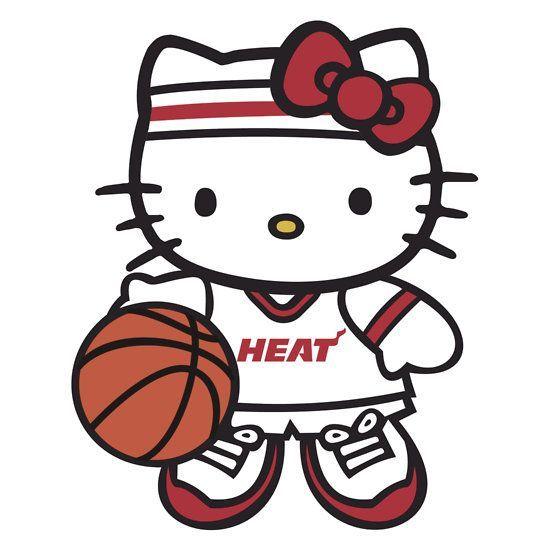 550x550 Miami Heat Hello Kitty Hello Kitty Galore Miami