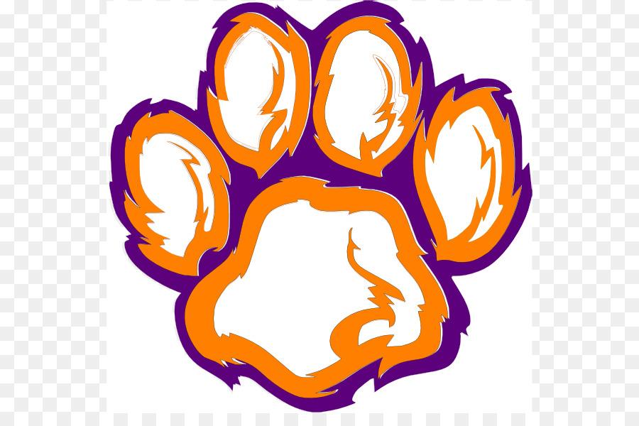 900x600 Clemson Tigers Football Clemson University Paw Clip Art